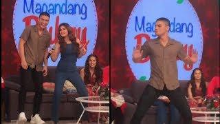 Loisa Andalio Ronnie alonte taga San ka Dance Challenge 😍