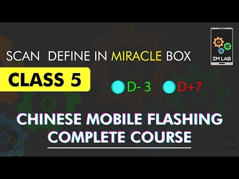 Scan Define pin-outs in Miracle Box| China Flashing Complete Course | Class 5 | Urdu/Hindi