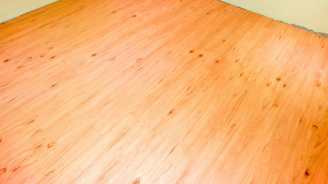Minute Video Guide To Laying Karndean Vinyl Flooring YouTube - Vinyl flooring youtube