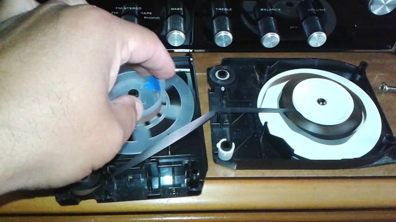 8 Track Tape Repair