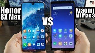 Honor 8X Max vs Xiaomi Mi Max 3: Compare Big Screen Phones 2018!