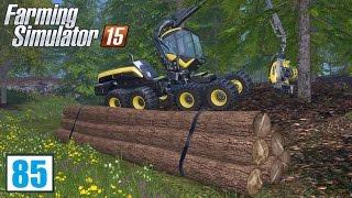 Zawód: drwal (Farming Simulator 15 #85), gameplay pl