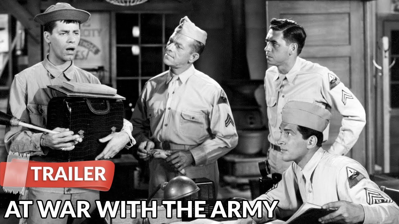 Download At War with the Army 1950 Trailer | Dean Martin | Jerry Lewis