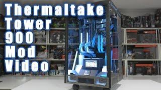 Mod Video - Thermaltake Tower 900 - CES 2017 Build(Everyone's been asking for it and here it is. Our video covering the new Thermaltake Tower 900 Chassis and the build we've done in it for CES 2017. Follow us ..., 2016-12-07T14:46:51.000Z)