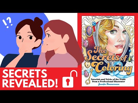 The Secrets of Coloring by Jennifer Zimmermann | Review