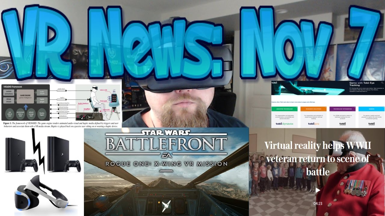 VR News: Nov 7 - Linden Labs and their VR Second Life - Tobii $16 million  Eye Tracking & More!