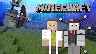 Minecraft Minihry: UHC Run - spawner na kostlivcov