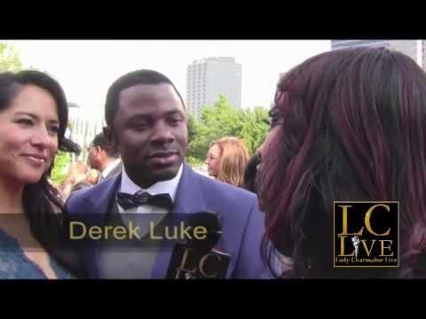 Derek Luke Bishop Jakes 35th Anniv on Lady Charmaine Live