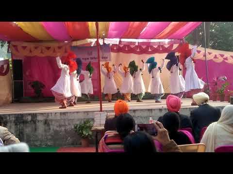 Jhoomar dance chandigarh state level