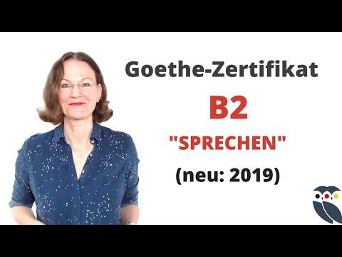 ᐅ Goethe Prüfung/Zertifikat B2 | Neu 2019 | Modul Sprechen |  Info Und Tipps