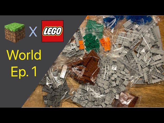 LEGO® X Minecraft World #1 - Am Anfang stand die Bautechnik