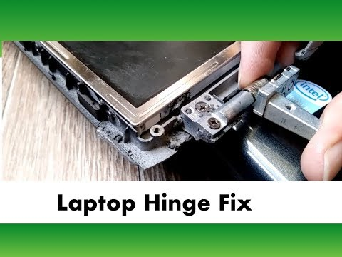 Fixing a Laptop Hinge with JB-Weld Epoxy and Putty