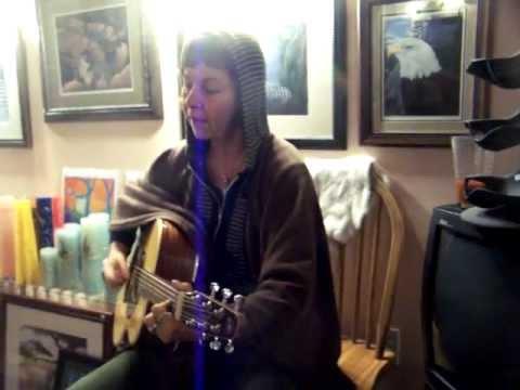 Cedar Woman Singing Love Love