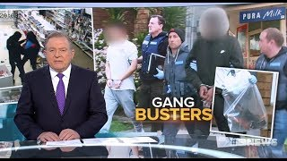 Nine + Seven News. AK47 Carjacking African + Middle Eastern Gang Arrested.(Melbourne)(Foreign Enemy)