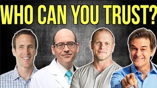 Doctors & Nutrition Experts EXPOSED | Who to trust? (Vegan, Keto, Paleo, Carnivore)