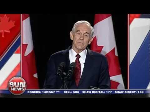 Ron Paul: Spirit of Liberty Lives in Canada  2013 Manning Networking Conference