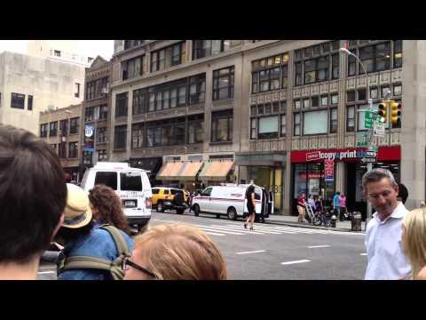 Manhattan, NY-7th ave/Fashion Avenue