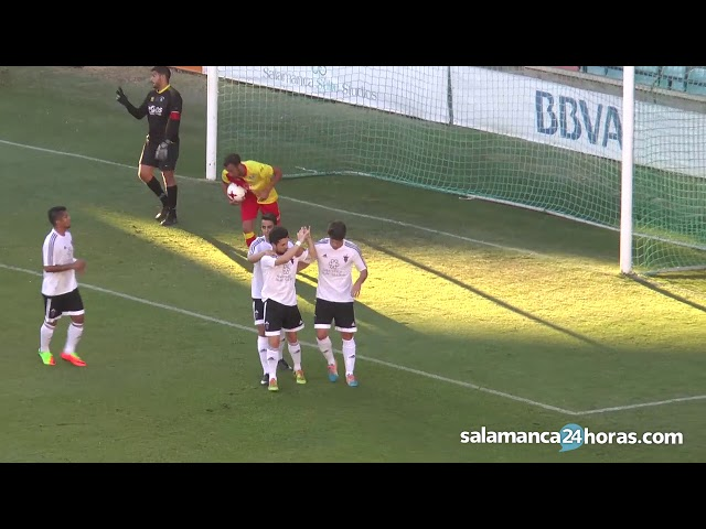 Resumen Salmantino UDS 2-0 San Agustín de Guadalix