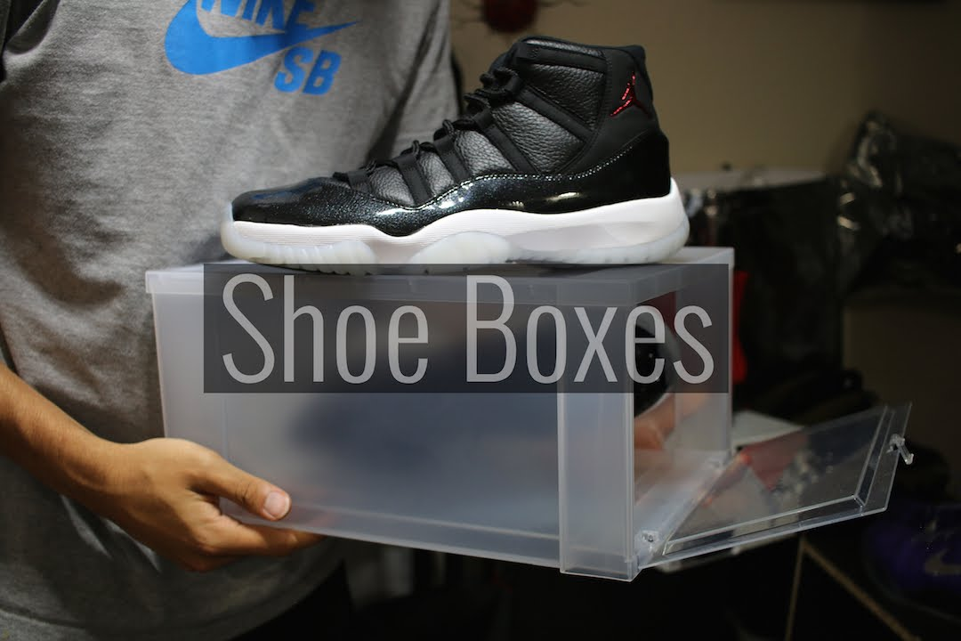drop front shoe boxes 20 off hurry youtube. Black Bedroom Furniture Sets. Home Design Ideas