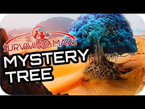 SURVIVING MARS: THE TREE DREAMERS! 16 Lets Play Surviving Mars Gameplay