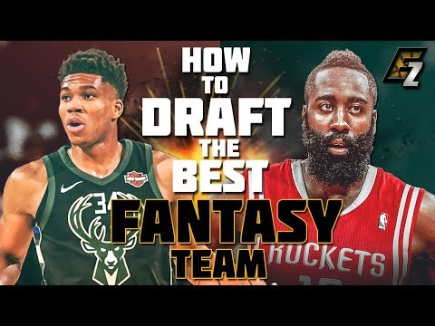 How To DRAFT The BEST Fantasy Basketball Team EVER!