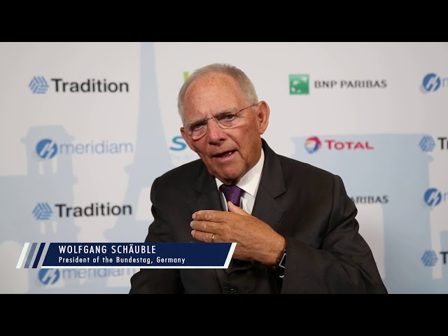 Which should Europe's strategic mission be in the coming years?  Wolfgang Schäuble
