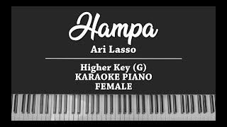 Download Mp3 Hampa - Ari Lasso  Female Karaoke Piano Cover
