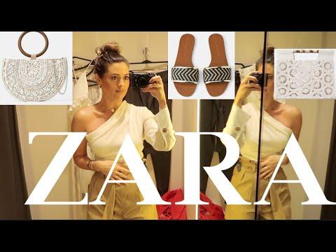NEW IN ZARA | MIAMI COME SHOPPING WITH ME | SPRING ZARA HAUL