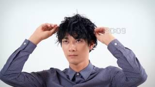 """メンズノンノモデル清原 翔が""""スゴ楽""""なヘアスタイリングを実演! http:..."""