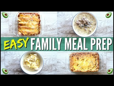 🔥easy-keto-meals-●-keto-meal-prep-for-the-week-●-batch-cooking-like-a-boss-●-family-meal-prep