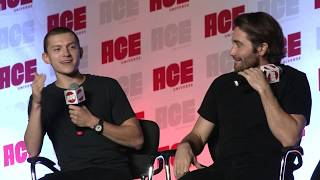 Tom Holland & Jake Gyllenhaal at ACE Comic Con Midwest 2019