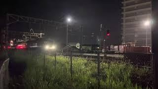 787系 延岡駅到着 6両編成特急
