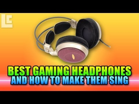Best Gaming Headphones For Directional Accuracy - AD700, PC360