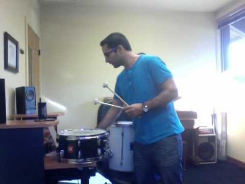 Cypress Little Drummer Boy Drum Tutorial