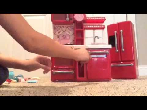 Opening Up Our Generation Gourmet Kitchen Set - YouTube