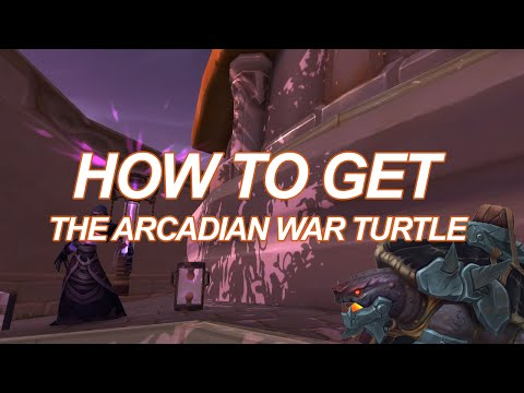 How to Get the Arcadian War Turtle Mount (Legion Guide)