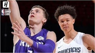 Sacramento Kings vs Dallas Mavericks - Full Game Highlights | July 8, 2019 NBA Summer League