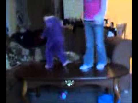 Naugt Girls Dancing On Coffee Table  Youtube