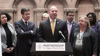 New York State Joint Legislative News Conference - MTA Spending Plan -03/25/19