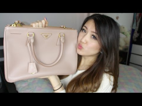7ffd3b05c4d5a1 Review: Prada Saffiano Lux Tote - YouTube