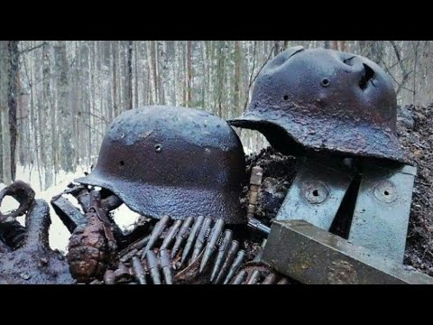 WWII Treasure Buried in the Forest Amazing Relics Of WW2 Metal Detecting 2