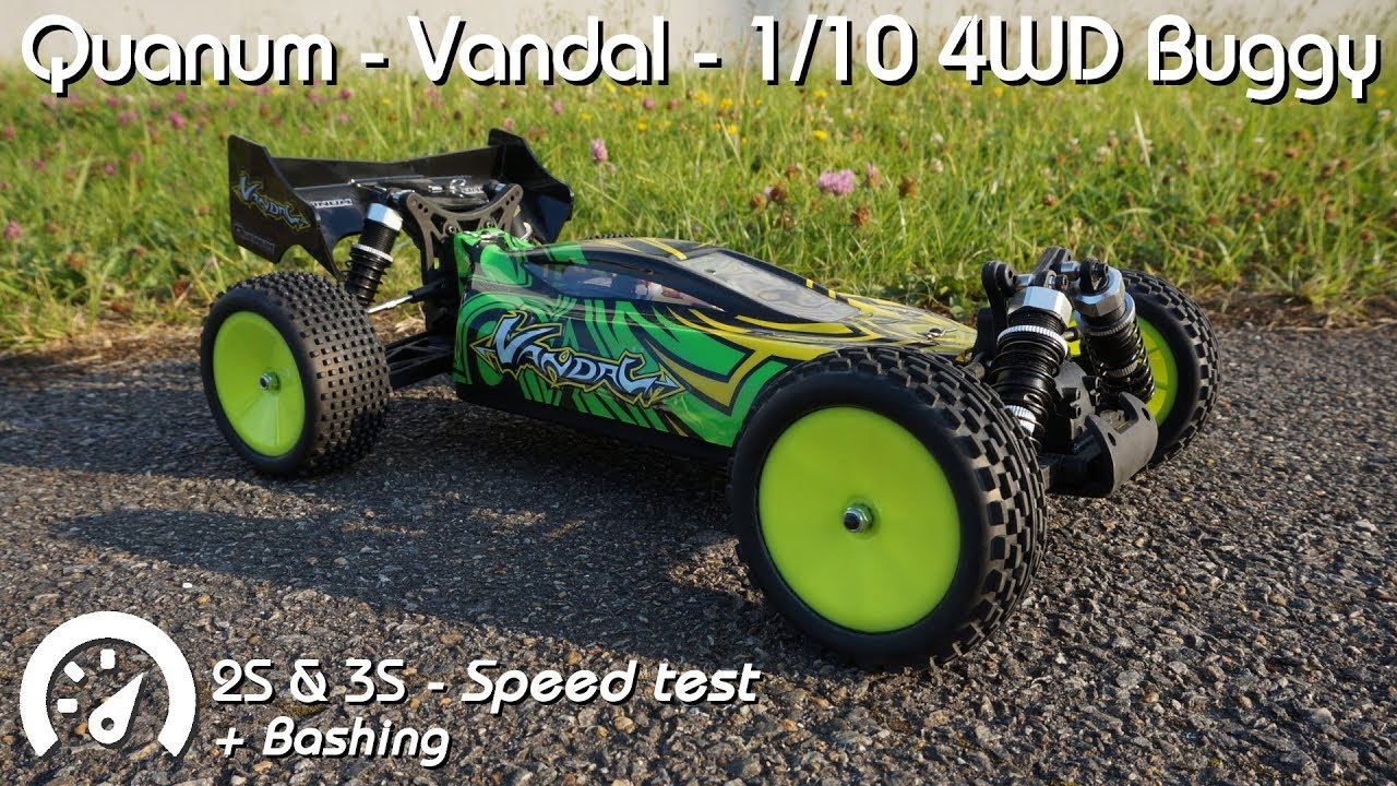 Crown Buggy Bewertung Mini Review Quanum Vandal 1 10 4wd Buggy Review Rc