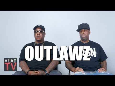 """Outlawz on 2Pac Getting Shot in Vegas, His Last Words Being """"F*** The Police"""""""