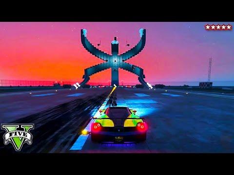 GTA 5 Dragonfly & Gravity EPIC Wallride!! PS4 ONLINE Custom Maps w/The Crew (GTA 5 Funny Moments)