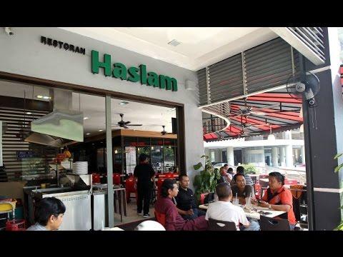 Restaurant Haslam Bangsar   Makan tengah hari