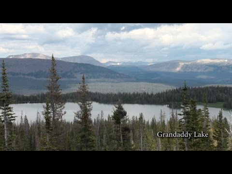 Grandview Trailhead leads to Grandaddy Basin on the Ashley National Forest in Utah