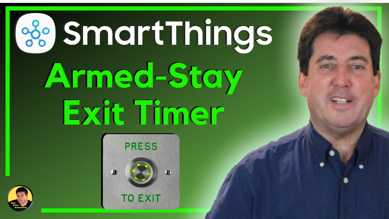 SmartThings Automation to Temporarily Deactivate Security Alarm