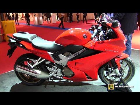 2015 Honda VFR800F - Walkaround - 2014 EICMA Milan Motorcycle Exhibition