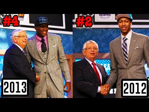 Ranking EVERY NBA Draft Class From 2010 To 2015