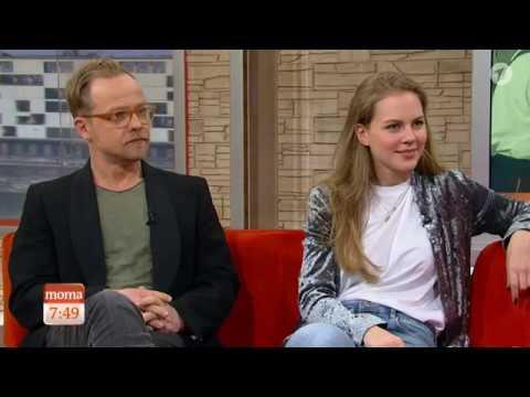 Charité  Alicia von Rittberg & Matthias Koeberlin ARD Morgenmagazin 21.03.2017